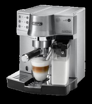 أفضل ماكينة قهوة ديلونجي لصنع الإسبرسو والكابتشينو - EC860